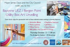 Bayonne UEZ - Bergen Point Utility Box Unveiling
