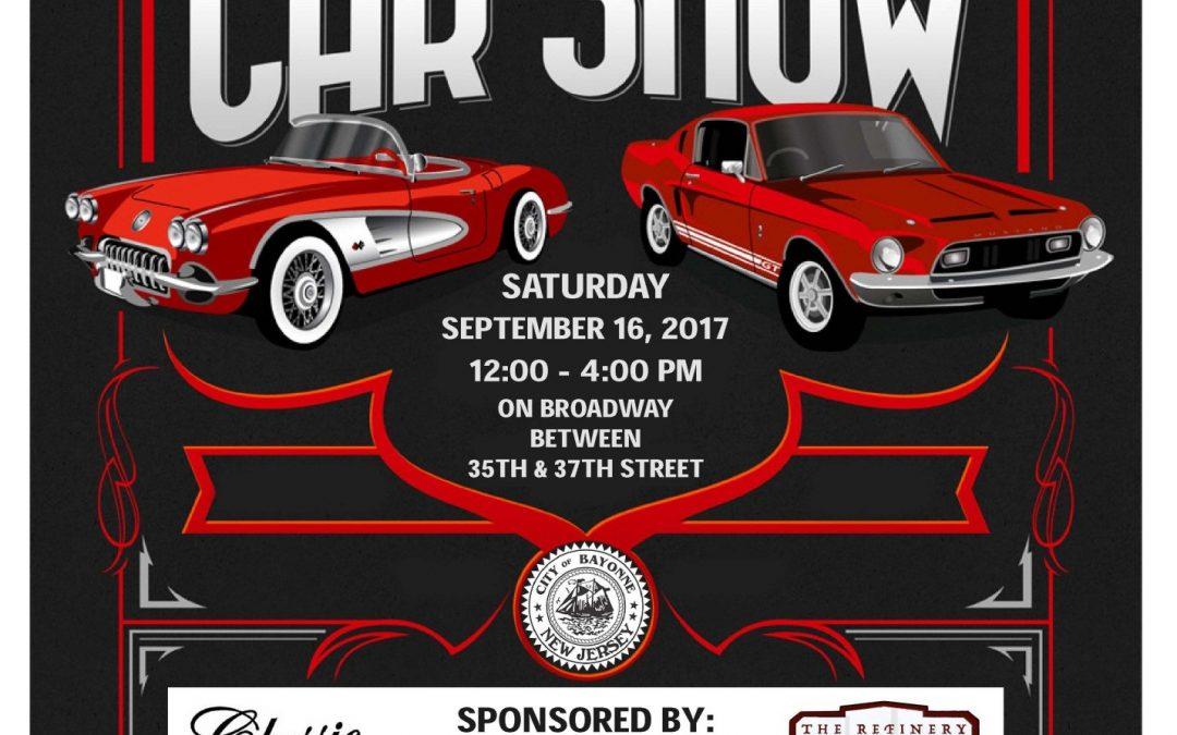 Bayonne Uptown Merchants Classic Car Show